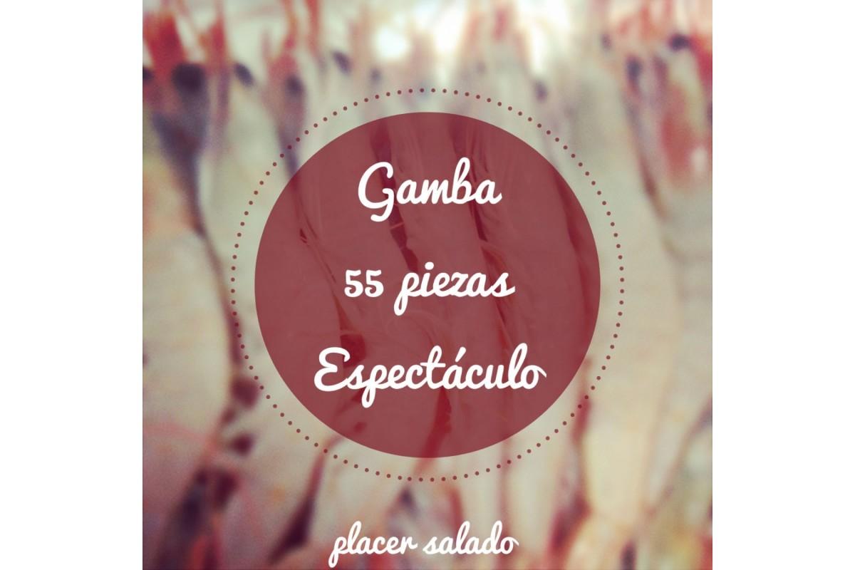 GAMBA BLANCA DE HUELVA 50/55 Piezas